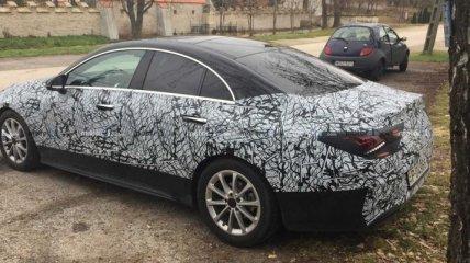 Появились фото обновленного Mercedes-Benz CLA