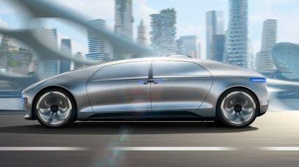 Mercedes покажет новый концепт-кар на автопилоте