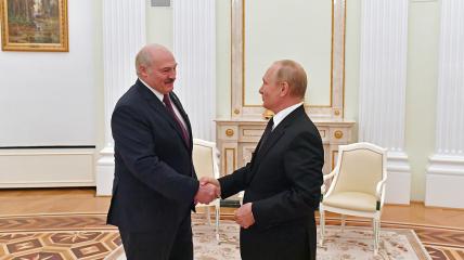 Лукашенко и Путин провели очередную встречу
