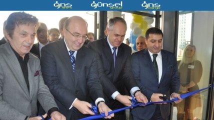 """Бизнесмены Турции и Украины встретились на открытии офисного центра """"GUNSEL Group"""""""