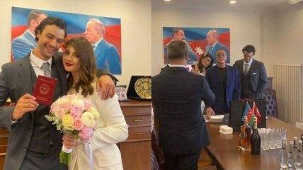 Сын Жан-Клода Ван Дамма женился на 21-летней пианистке с Ближнего Востока (их фото вместе)
