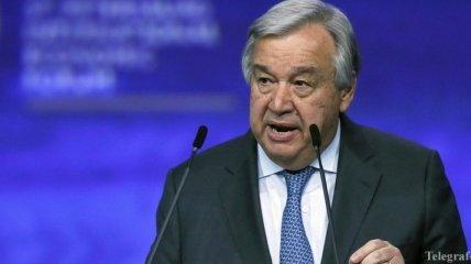 """Генсек ООН прокомментировал результаты """"нормандского саммита"""""""