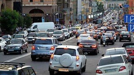 Авария с конструкцией Южного моста и ДТП на Северном мосту: Киев снова остановился в пробках