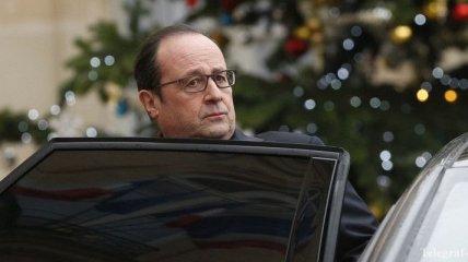 Олланд назвал стрельбу в Париже терактом