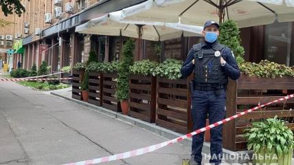 Место убийства Михаила Козлова