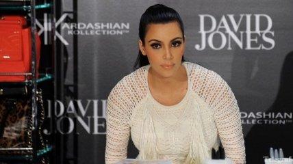 Ким Кардашьян забеременела