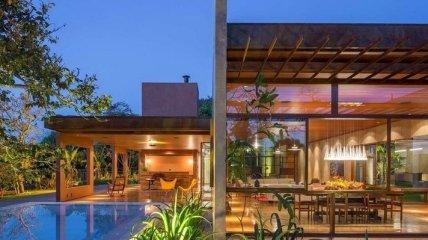 Красивый и просторный дом в бразильской саванне (Фото)