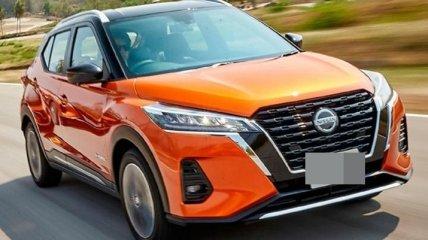 Кроссовер Nissan Kicks получил гибридную силовую установку