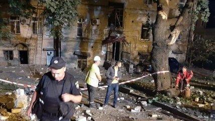 В Нацполиции назвали вероятную причину взрыва в центре Киева (Фото)