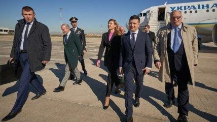 Зеленский прибыл в Рим: началась встреча с премьером страны (Видео)