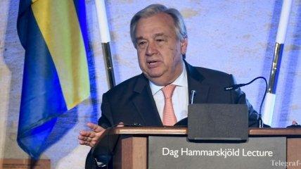 Генсек ООН: Холодная война возвращается