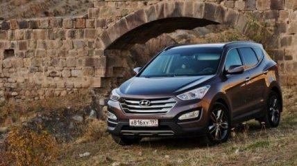 Новая модификация Hyundai Santa Fe