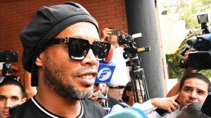 Роналдиньо: Мы были очень удивлены, узнав, что наши документы фальшивые