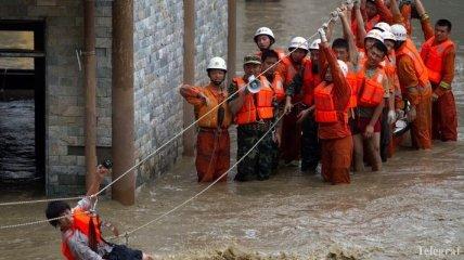 Северо-запад Китая накрыли сильные дожди: проводится эвакуация населения