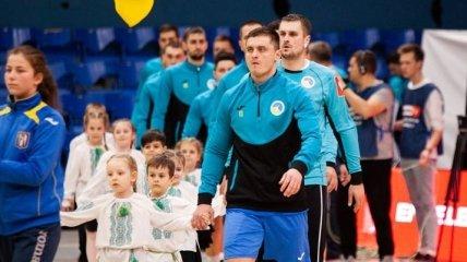 Гандбол. Сегодня Украина сыграет с Черногорией в отборе на чемпионат Европы
