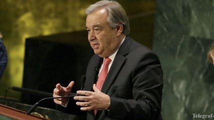 Гутерриш озвучил три направления реформ, которые намерен ввести в ООН