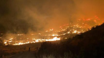 Пожар охватил курортную провинцию Мугла