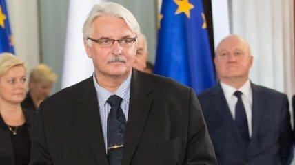 """Глава МИД Польши """"разочарован"""" нынешними отношениями с Украиной"""