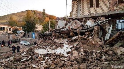 Землетрясение в Иране: число пострадавших превысило 500 человек