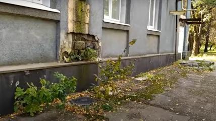 Дом культуры в Харцызске превращается в руины