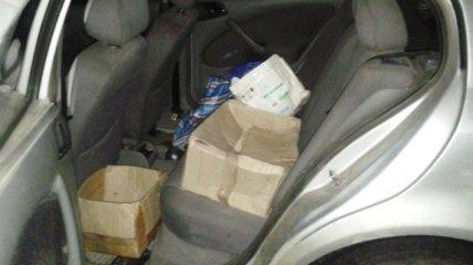 На Днепропетровщине в авто изъяли около двух килограммов пластида