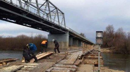В Ровно задержали преступника, который сломал мост проехав по нему на грузовике