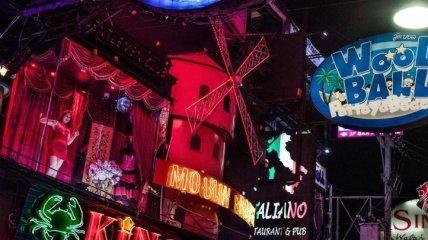 Яркие снимки из района красных фонарей в Паттайе (Фото)