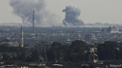 В Ираке рядом с базой военных упали 17 ракетных снарядов