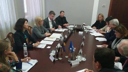 Денисова дискутировала с делегацией Венецианской комиссии: подробности