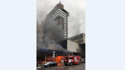 Вскрылся неожиданный казус с пожаром в Киеве (видео)