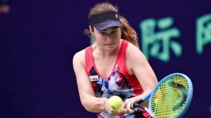 Снигур успешно отобралась на турнир ITF в Шэньчжэне