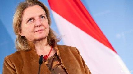 Кнайсль: Австрия четко поддерживает независимость и суверенитет Украины