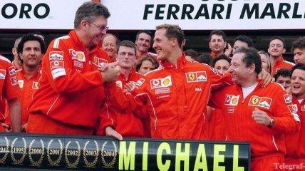 Легенды Формулы-1. Сезон 2004 - 7-е чемпионство Шумахера (Видео)