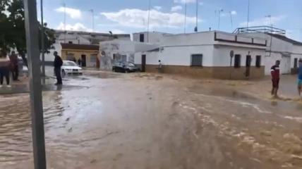 Іспанію затопило через сильні зливи