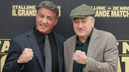 Легендарные актеры вспомнили молодость и сошлись в боксерском поединке