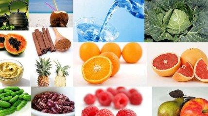 Продукты, сжигающие жиры и регулирующие обмен веществ (Фото)