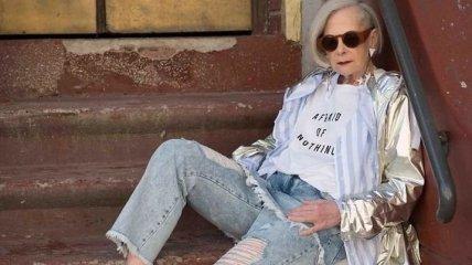 Случайный кумир: как обычный университетский профессор стала иконой моды (Фото)