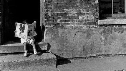 Старые детские фотографии из зарубежных журналов (Фото)