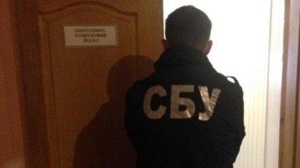 СБУ разоблачила на взятке руководителя подразделения пограничной службы