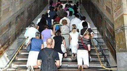 Святая лестница в Риме открылась после реставрации