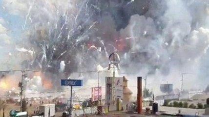 Взрыв пиротехники на рынке в Мексике закончился трагедией