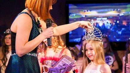 8-летняя украинка признана одной из самых красивых девочек в мире