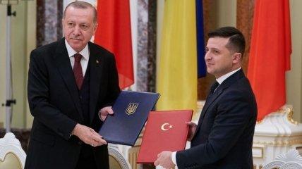Встреча Зеленского и Эрдогана: какие договора подписали президенты