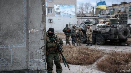 Штаб АТО: Боевики 22 раза обстреляли позиции украинских военных