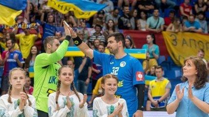 Гандбол. Украина уступила Черногории, но вышла на Евро-2020