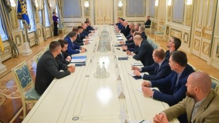 Зеленский встретился с представителями крупнейших украинских компаний