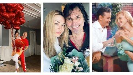 Украинские звезды поздравляют с Днем всех влюбленных и не только (фото, видео)