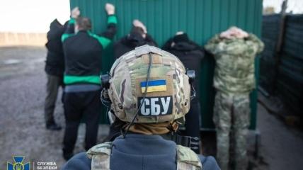 Задержание вероятных участников ЧВК