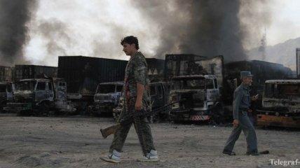 Смертники подорвали 37 грузовиков НАТО в Афганистане