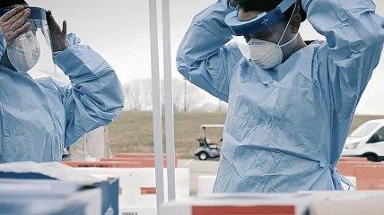 Невидимый враг: армию США задействовали в битве с коронавирусом (Видео)